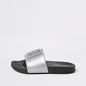 Kids silver RI jelly sliders