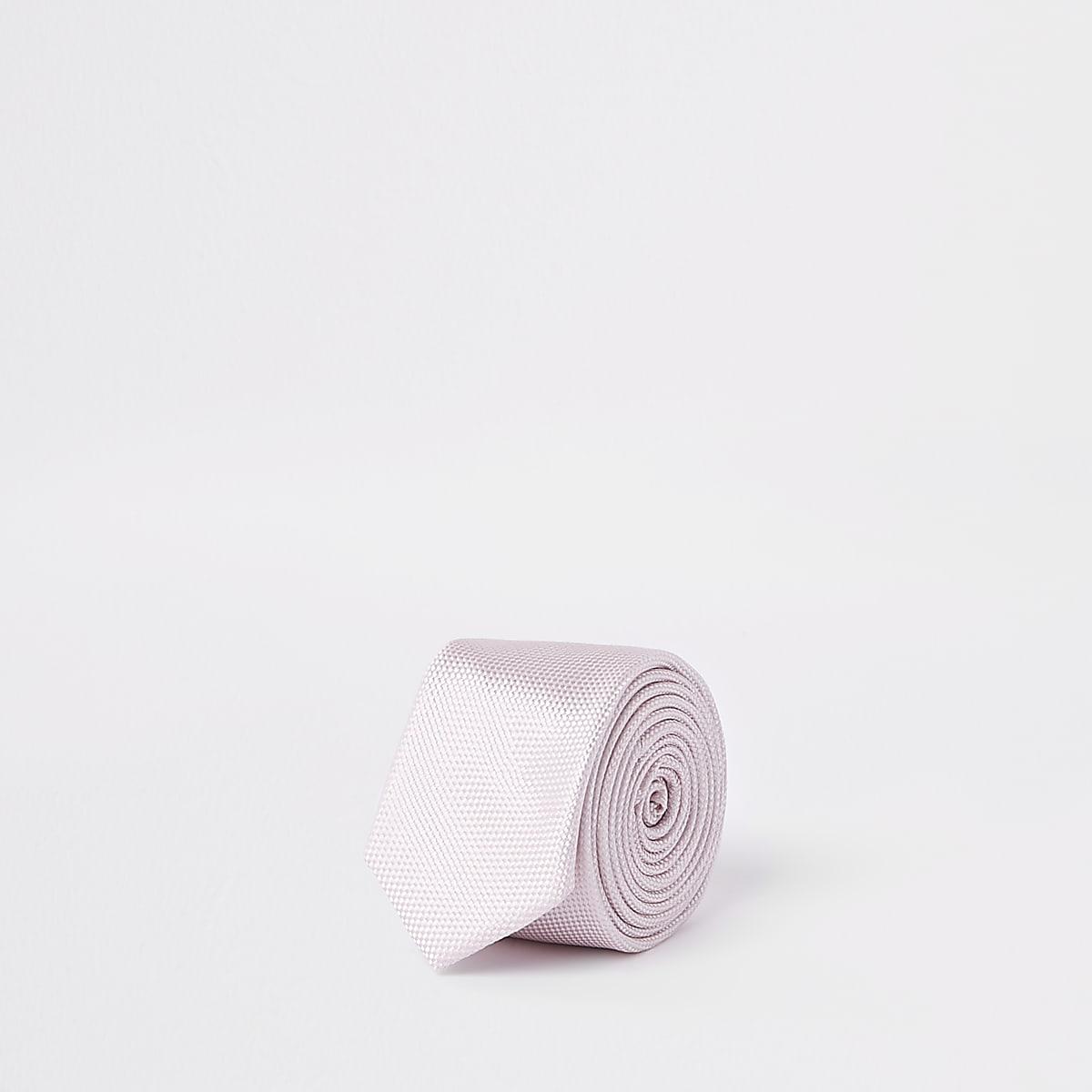 Boys bright pink tie
