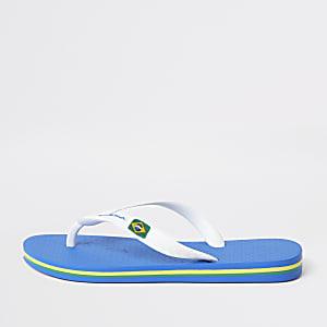 Ipanema Brazil - Marineblauwe slippers voor jongens