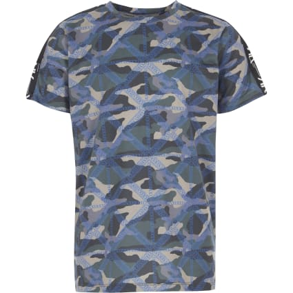 Boys RI Active khaki camo T-shirt