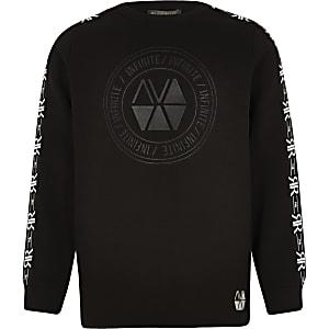 RI Active - Zwart sweatshirt voor jongens