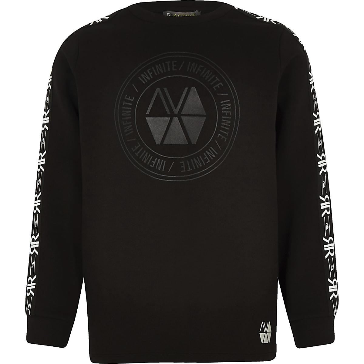 Boys RI Active black sweatshirt