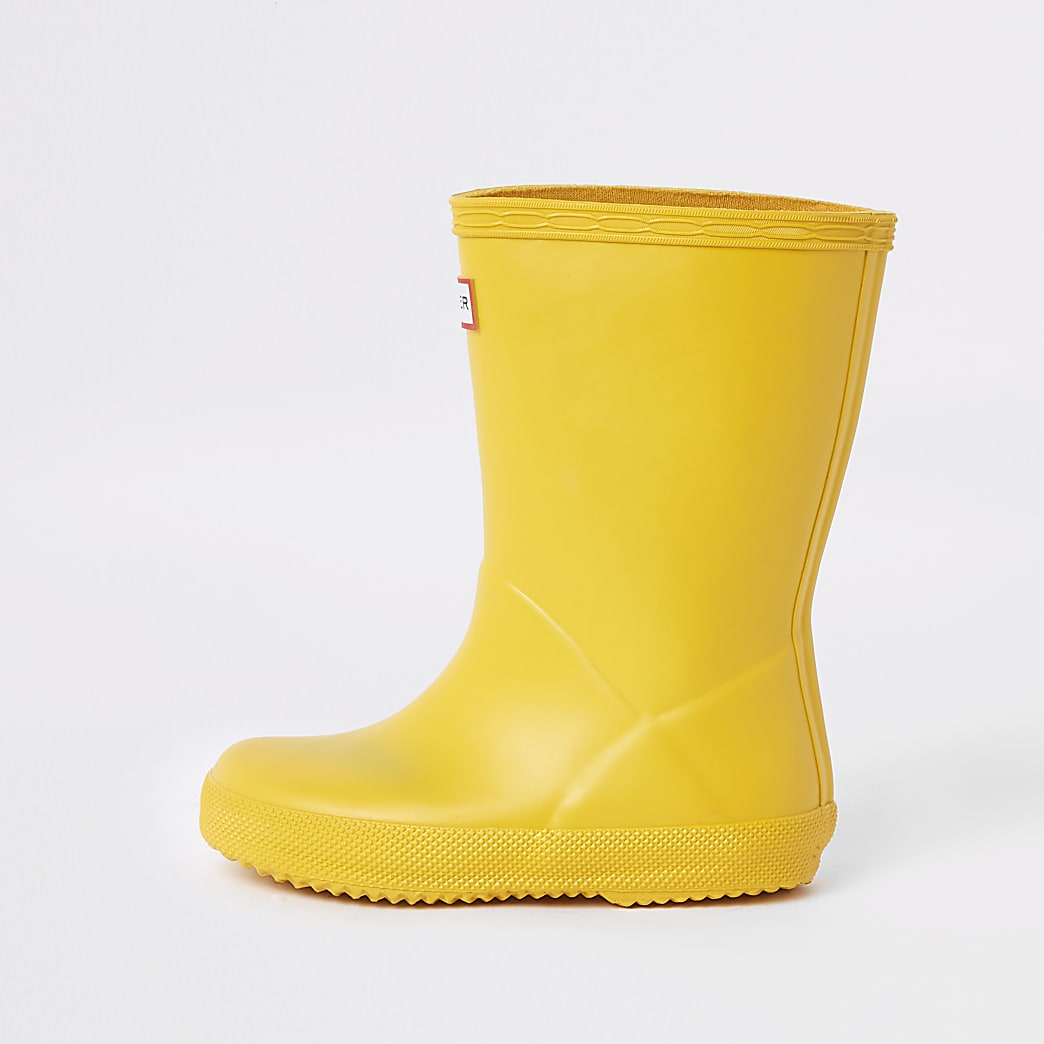 Hunter Original – Gelbe Gummistiefel
