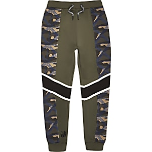 RI Active – Pantalon de jogging motif camouflage kaki pour garçon