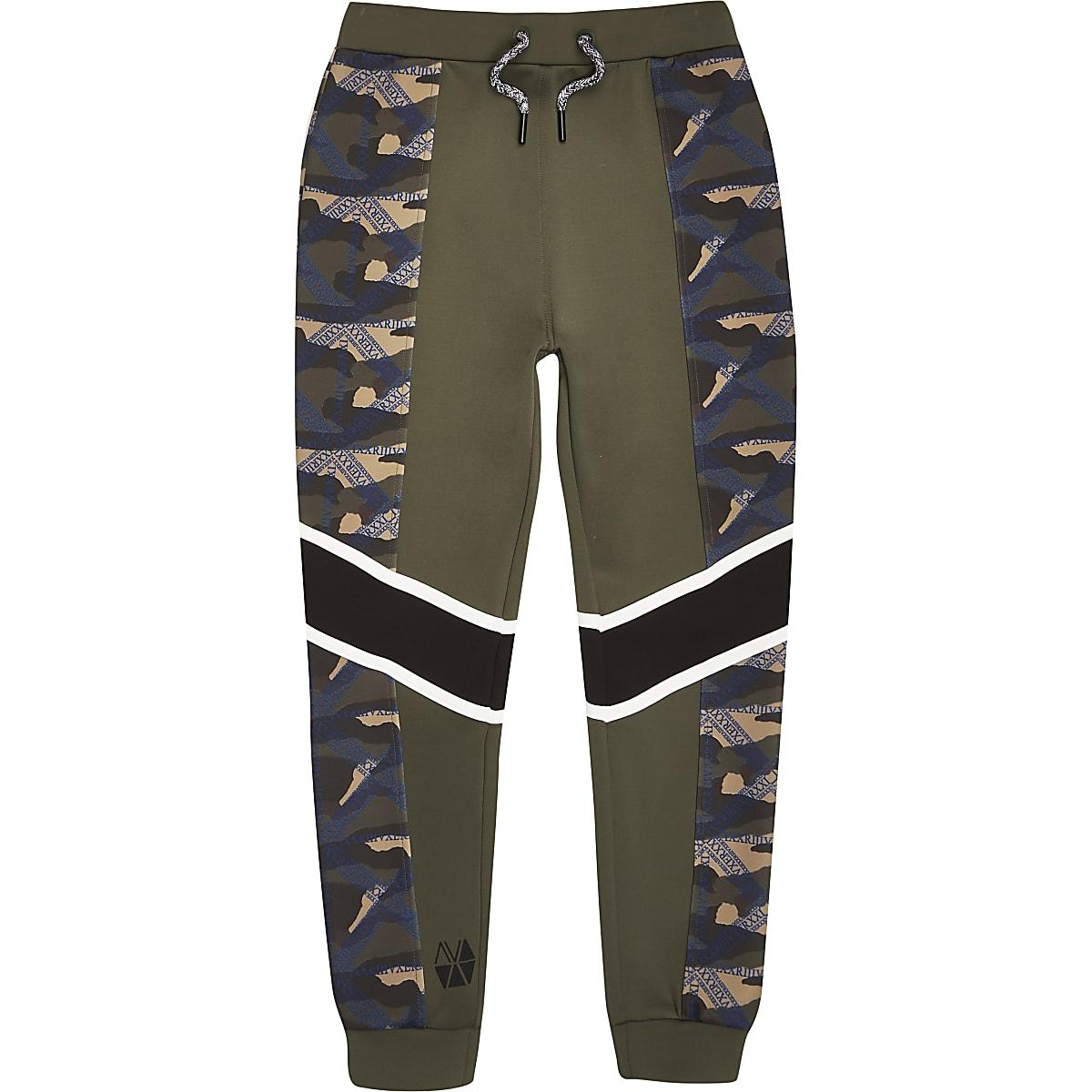 Joggingbroek Voor Jongens.Ri Active Kaki Joggingbroek Met Camouflageprint Voor Jongens