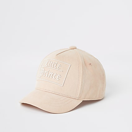 Mini boys pink 'Little Prince' cap