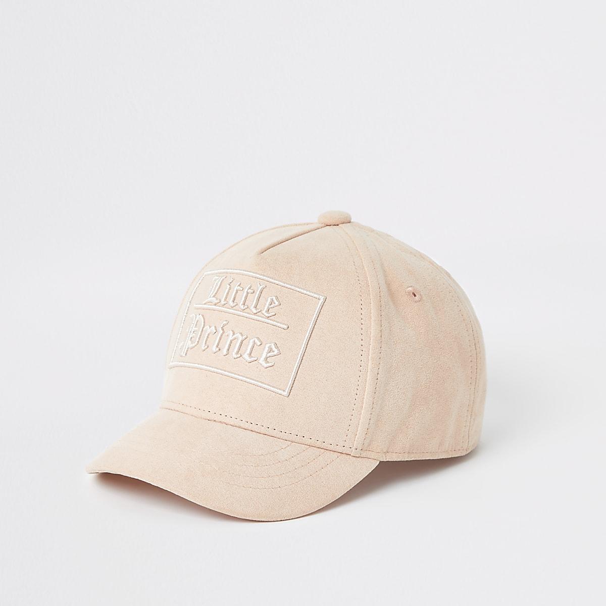 Mini boys pink 'Little Prince' cap