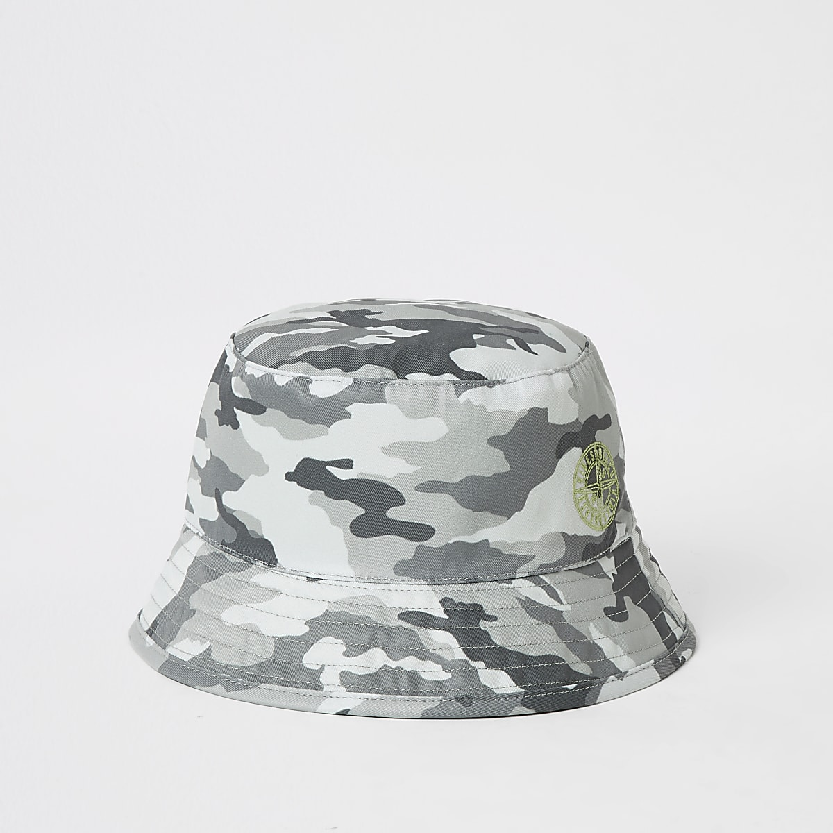 4926ec6f5b3b8 Mini boys grey camo bucket hat - Baby Boys Accessories - Mini Boys - boys