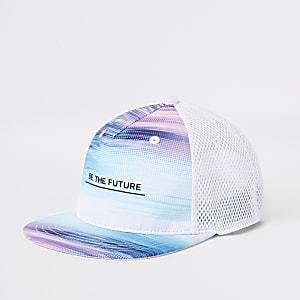 Casquette «Be the future» à visière plate pour garçon