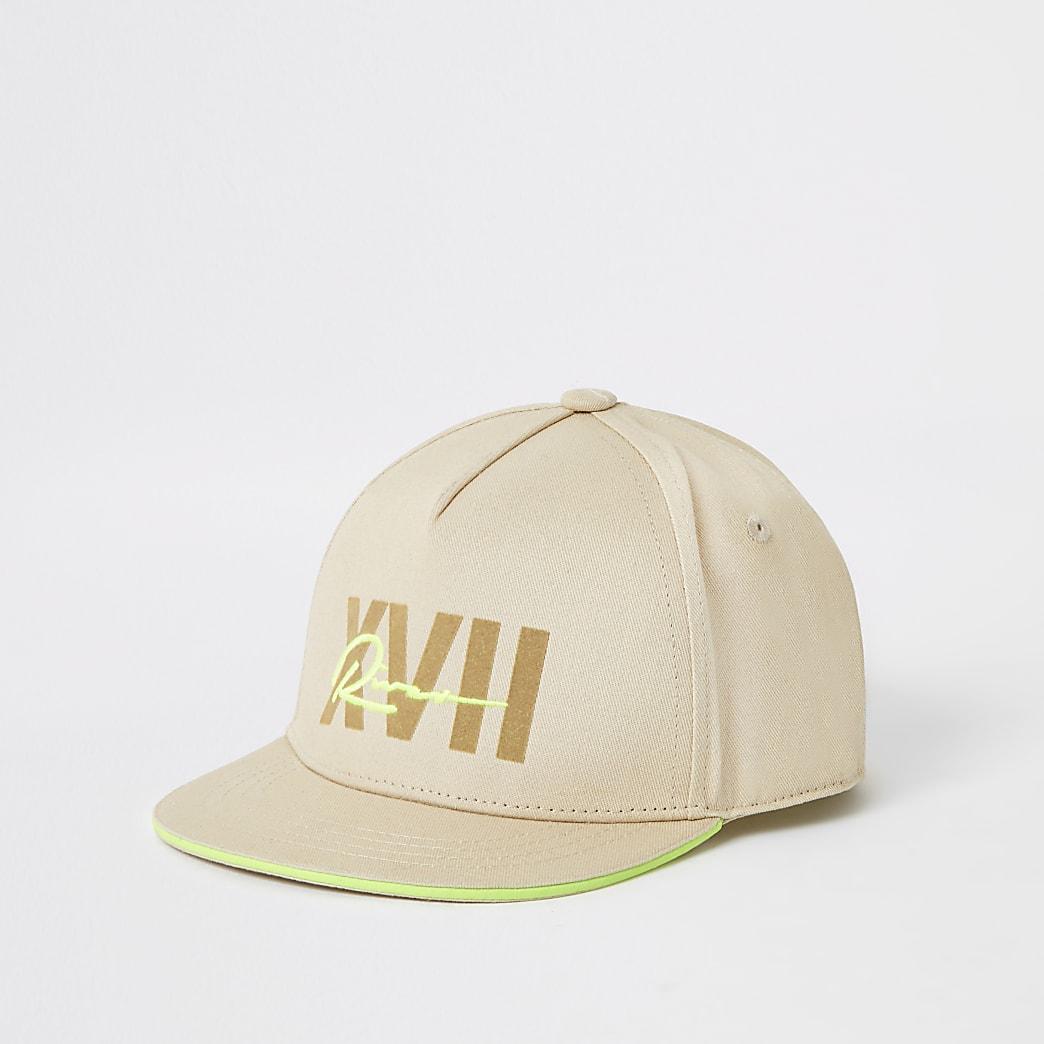 Boys stone neon 'River' cap