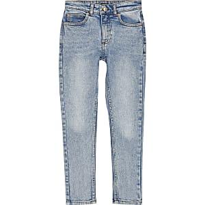 Boys blue Sid skinny wash jeans