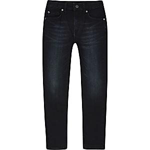 Sid – Dunkeblaue Skinny Jeans