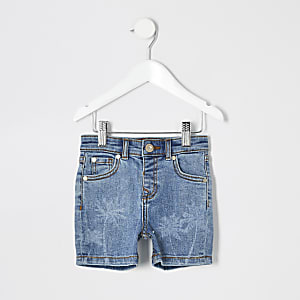 Dylan – Blaue Slim Fit Shorts