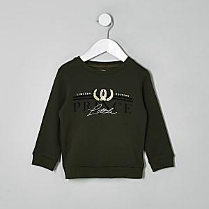"""Khaki Sweatshirt """"Little Prince"""""""
