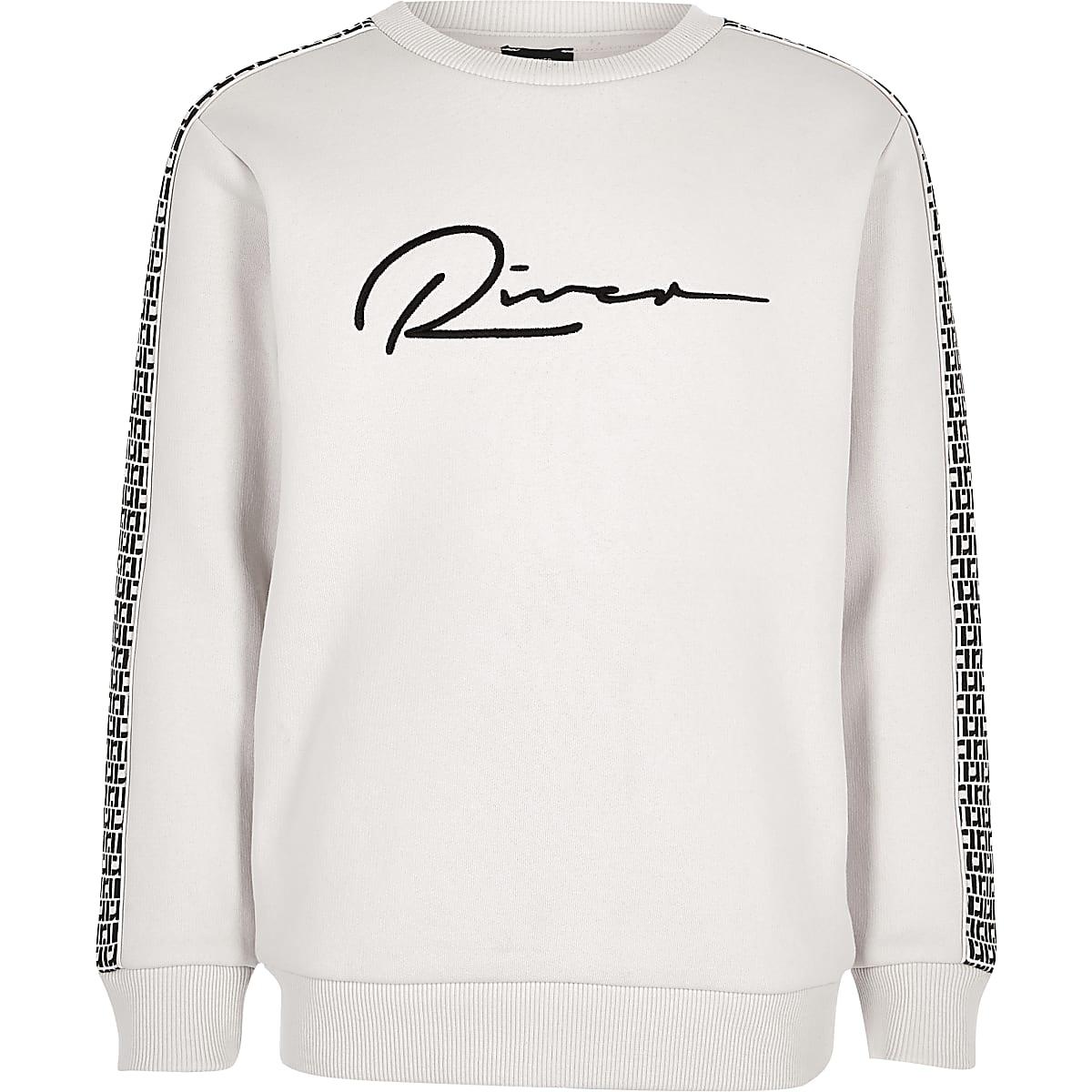 Sweatshirt in Ecru