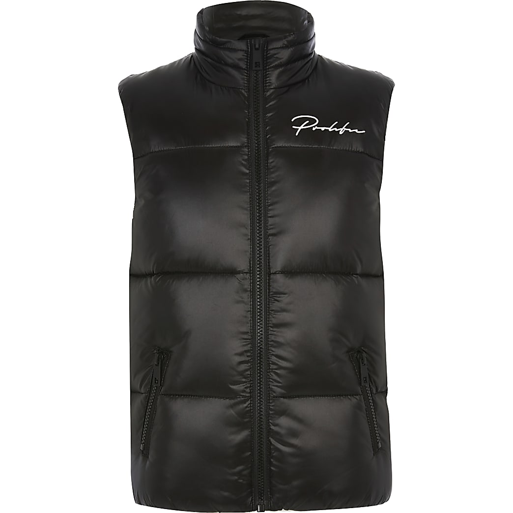 Boys black Prolific gilet
