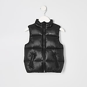 Mini boys black 'Prolific' gilet