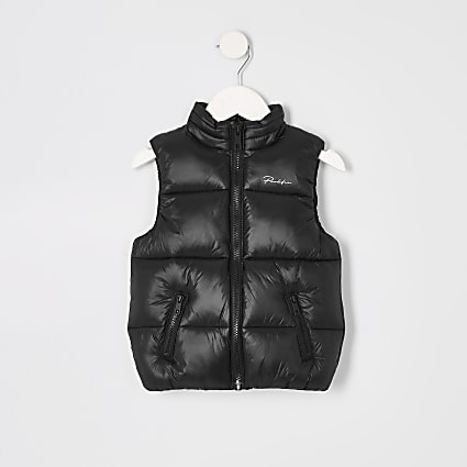Mini boys black Prolific gilet