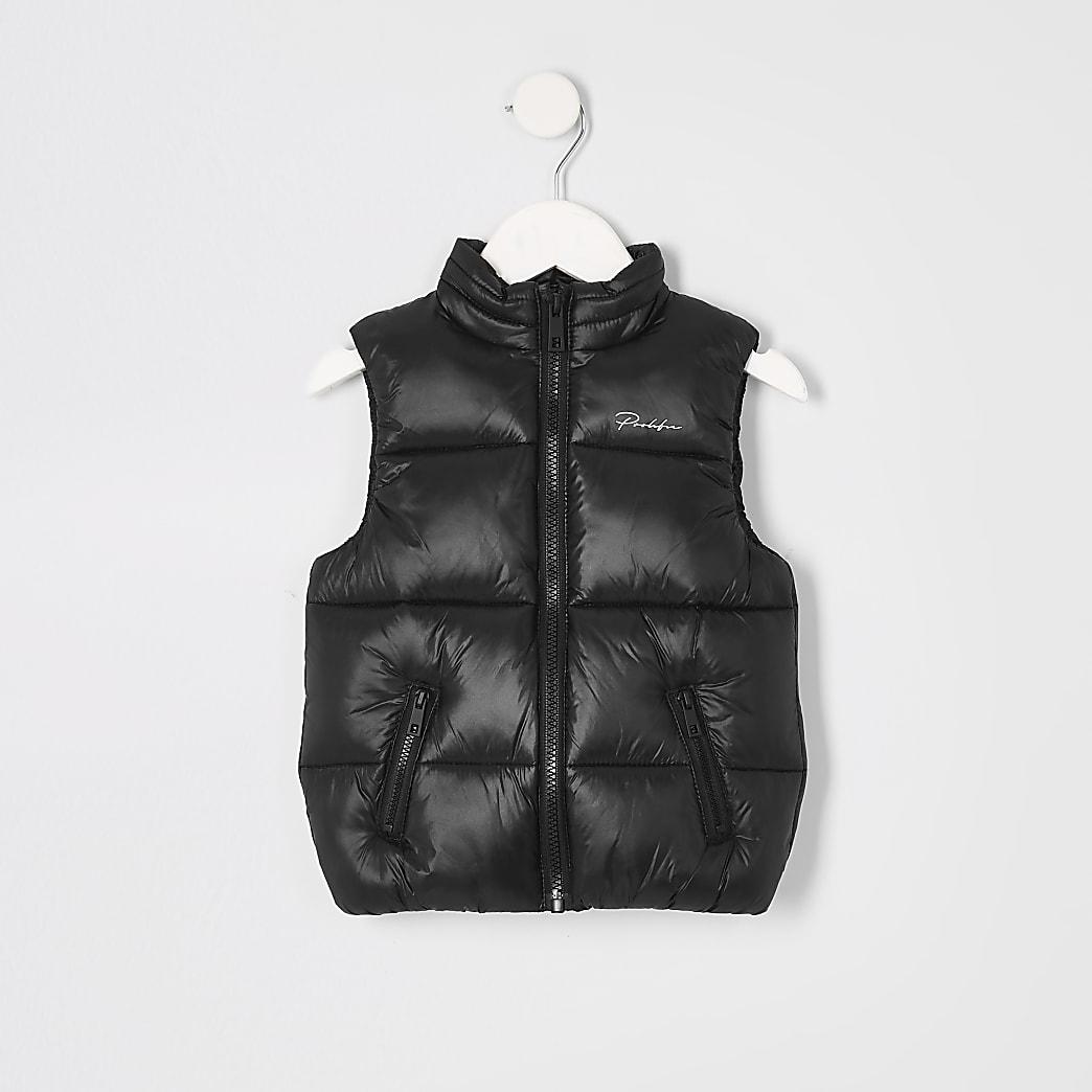 Prolific- Zwarte bodywarmer voor mini-jongens