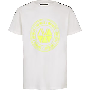 RI Active – Weißes T-Shirt