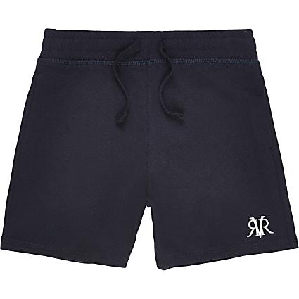 Boys navy RI jersey shorts
