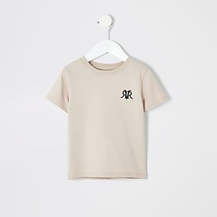 Mini boys stone RI T-shirt