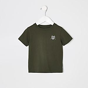 Mini boys khaki RI T-shirt