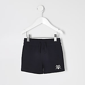 Mini boys navy RI jersey shorts