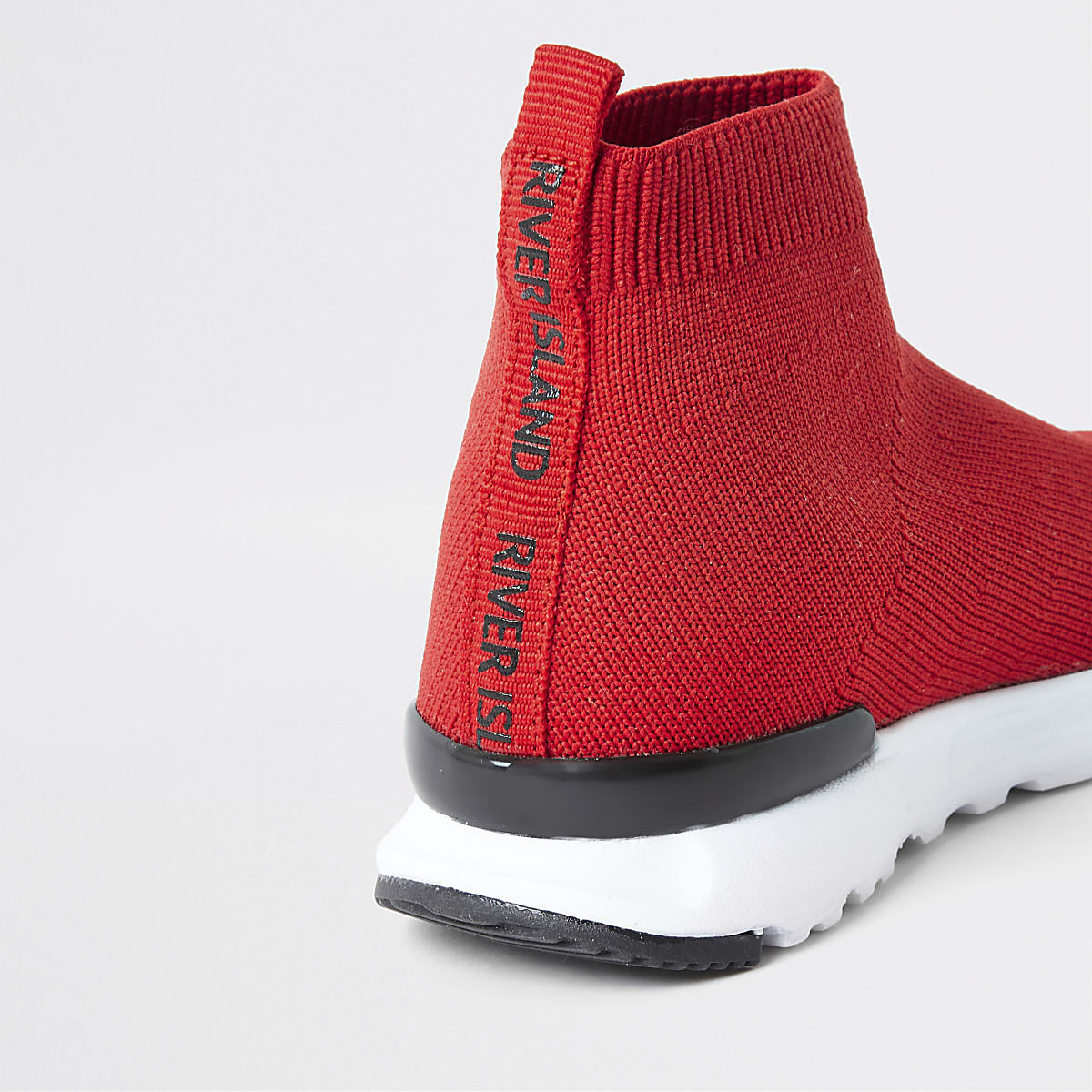 sneakers for cheap 79765 7a78d Mini boys red sock runner trainers