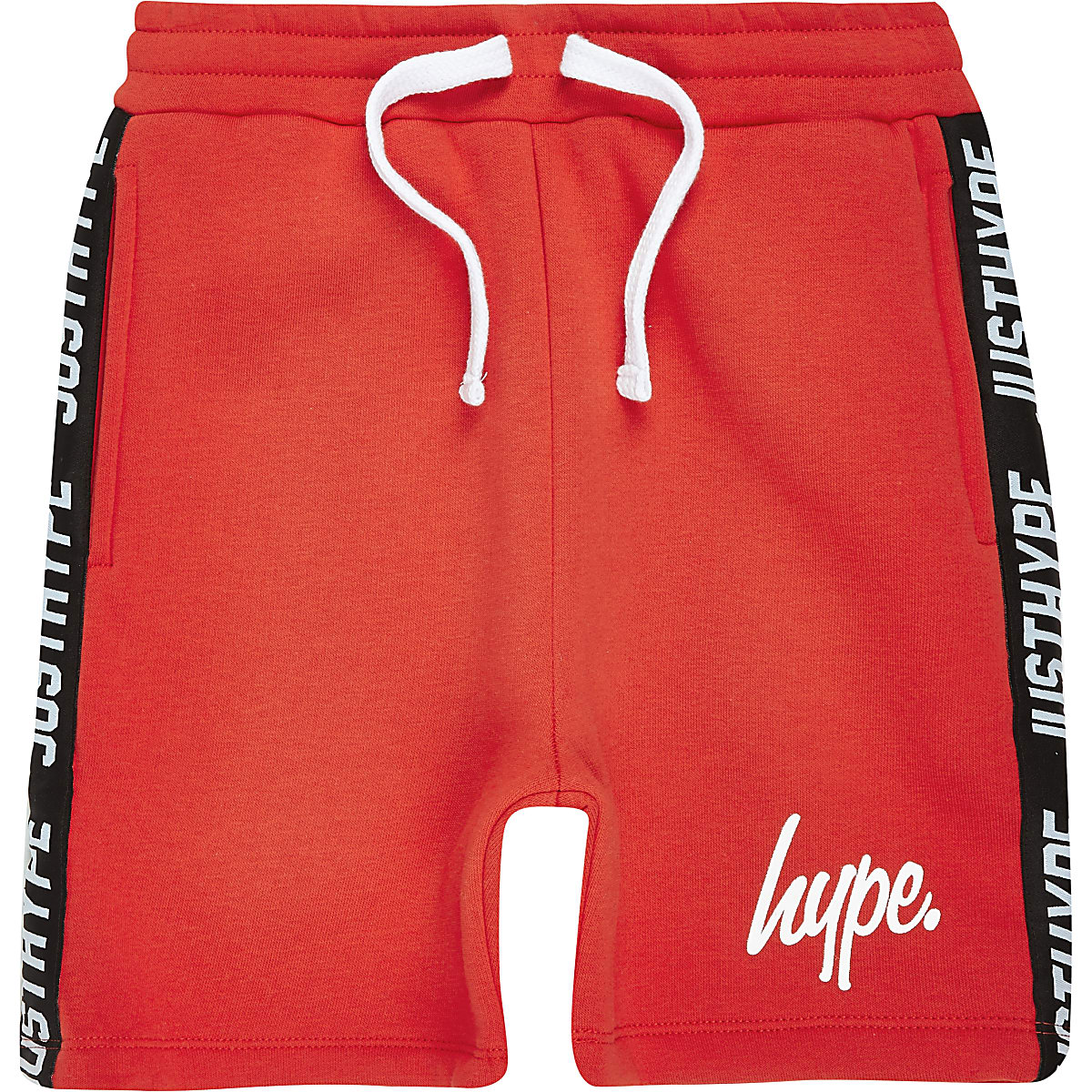 Boys red Hype jersey shorts