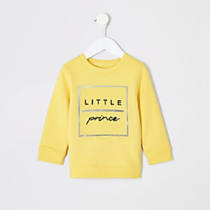 "Gelbes Sweatshirt ""Little Prince"""