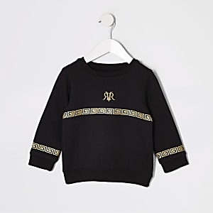 Mini boys RI foil print sweatshirt