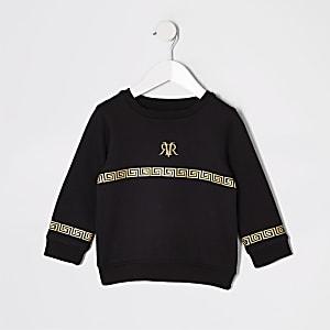Mini - Sweatshirt met RI-folieprint voor jongens