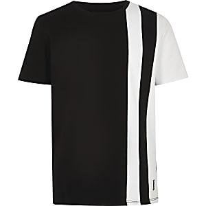 Zwart gestreept T-shirt voor jongens