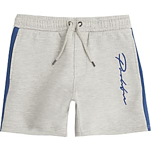 Boys grey 'Prolific' jersey shorts