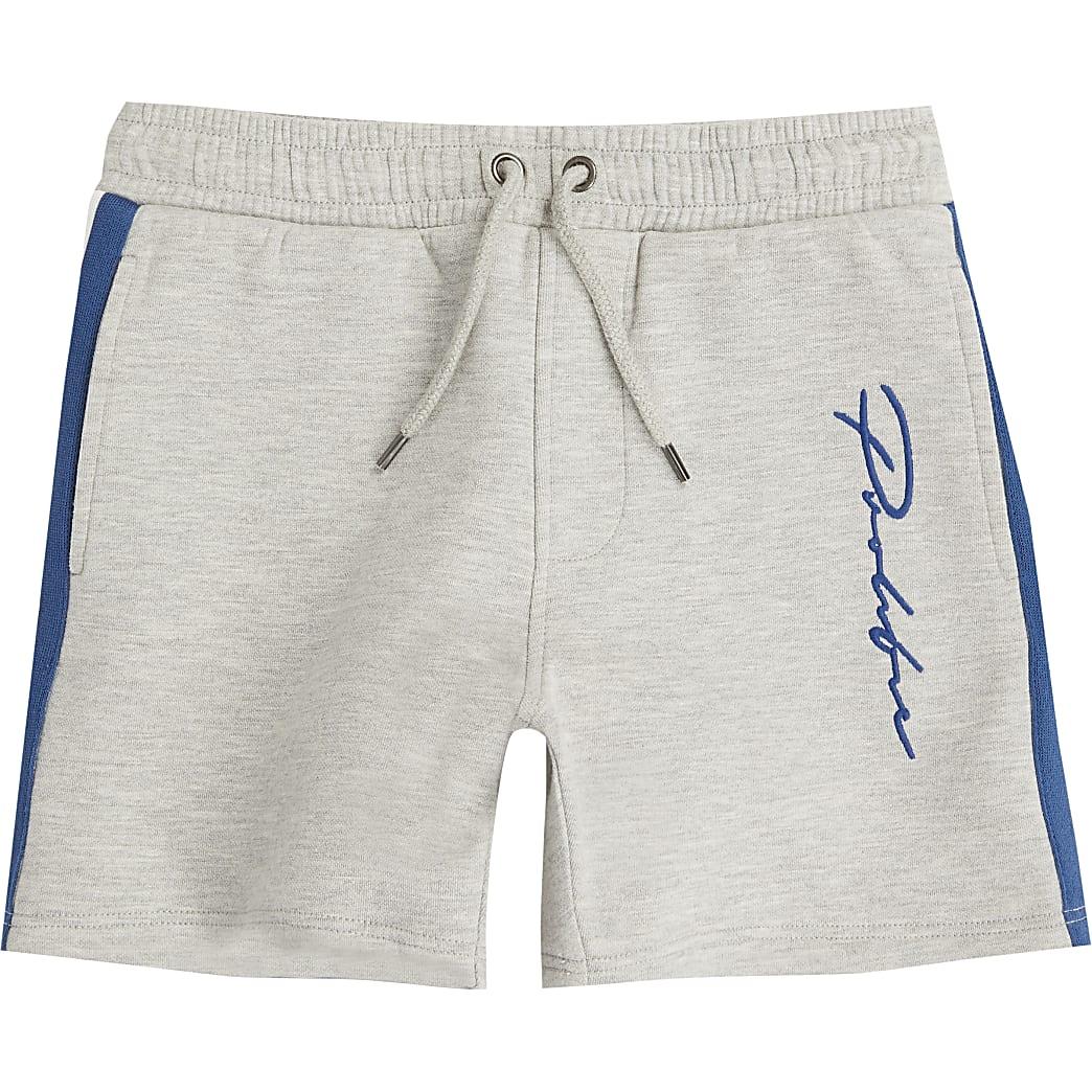 Prolific - Grijze jersey shorts voor jongens