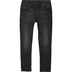 Sid - Zwarte wash skinny jeans voor jongens