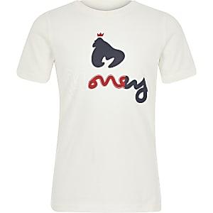 T-shirt met Money Clothing-logo voor jongens