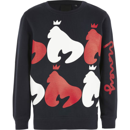 Boys Money Clothing printed sweatshirt
