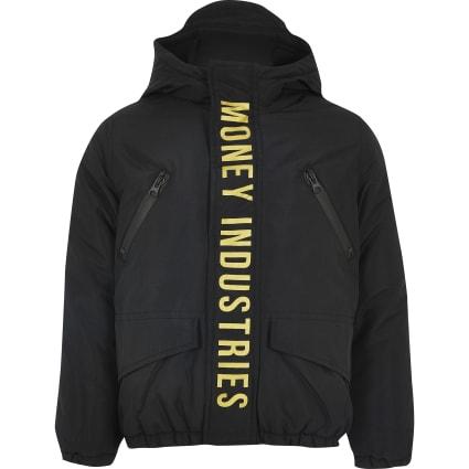 Boys Money Clothing black padded coat