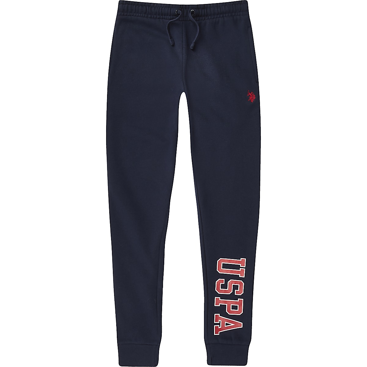 Boys U.S. Polo Assn. navy joggers