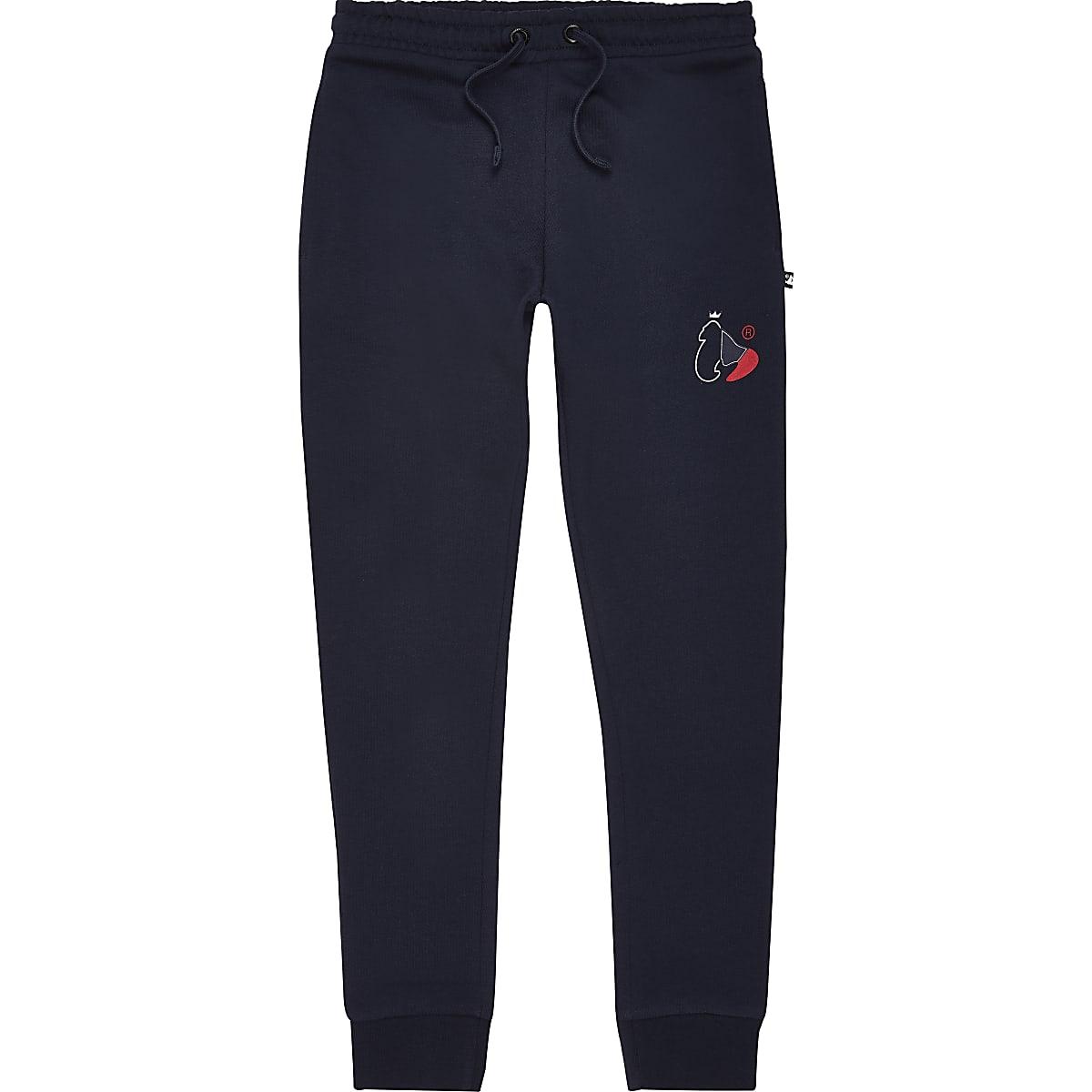 Money-kleding - Marineblauwe joggingbroek voor jongens