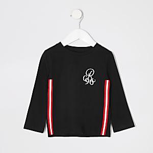 Mini – Schwarzes T-Shirt R96 mit Tape für Jungen