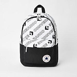 Zwarte rugzak met Converse-logo voor jongens