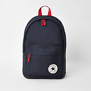 Boys navy Converse backpack