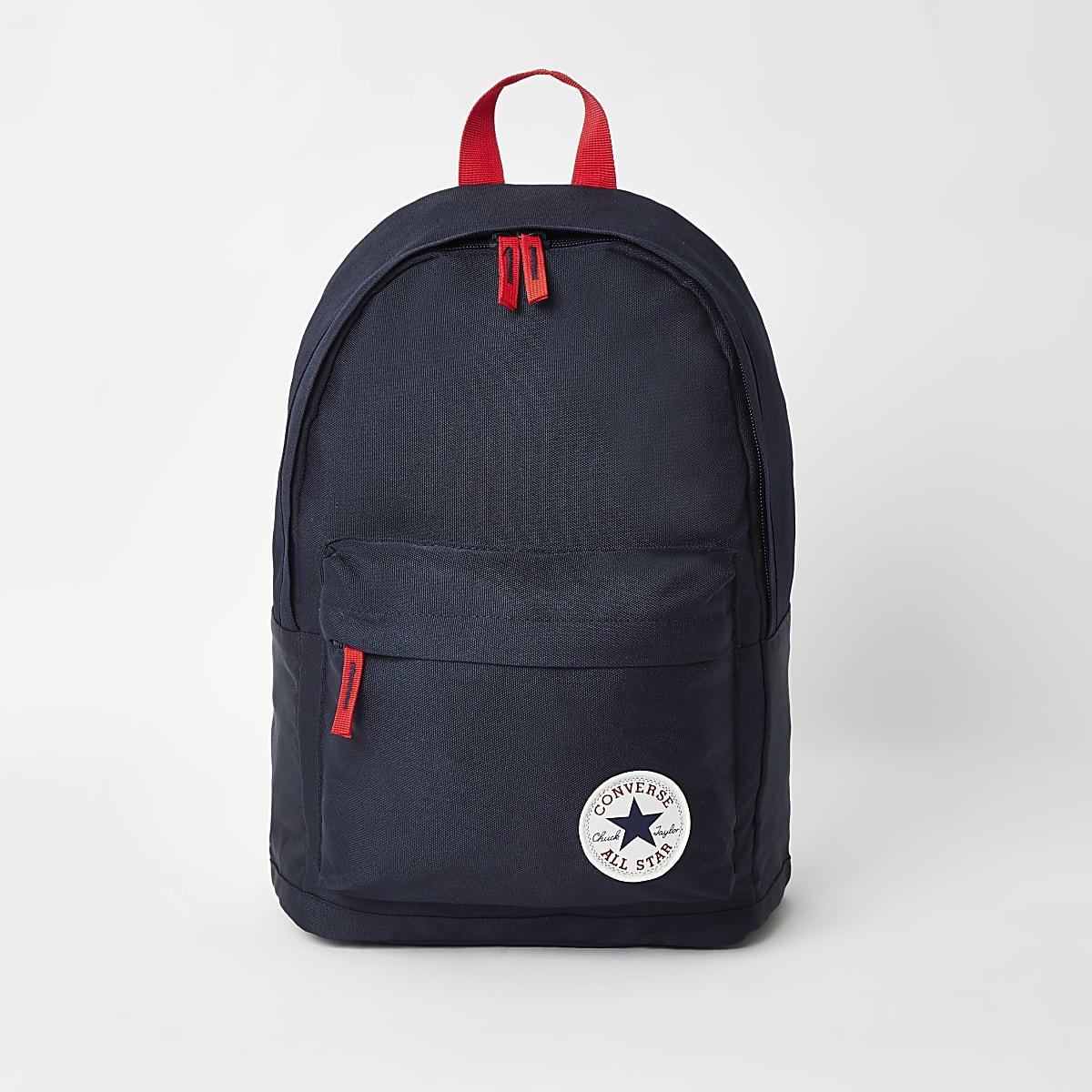 Boys navy Converse backpack