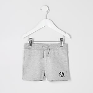 Mini boys grey RI jersey shorts