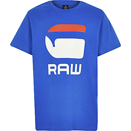 Boys G-star Raw blue T-shirt