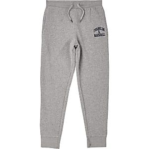 Franklin & Marshall - Pantalons de jogging gris pour garçon