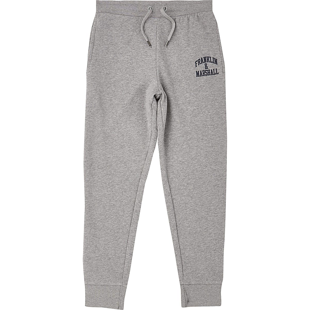 Boys Franklin & Marshall grey joggers